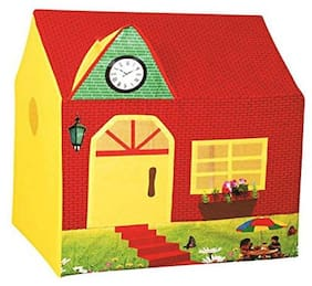 New TOy Chehar Enterprise latest Cuddles Country House Tent - Yellow And Red