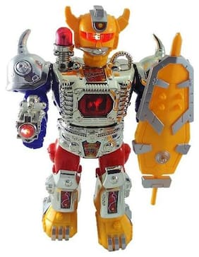 New toy Chehar Enterprise Walking Warrior Robot with LED Lights and Sound Toy