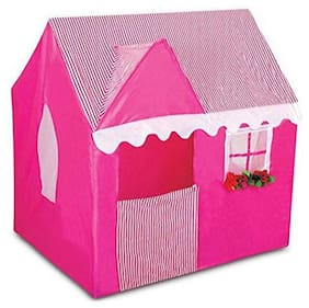New Toy Chehar Enterprise Latest Pink Tent House For Kids