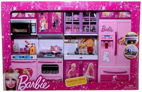 Buy New Toy Chehar Enterprise Multicolor Modern Barbie Kitchen Set Multicolor Online At Low Prices In India Paytmmall Com