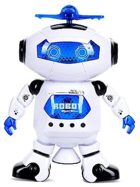 New Toy Chehar Enterprise Flipzon Naughty Dancing Robot with Swinging Arms and Head, Multi Color