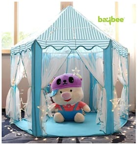New Toy Chehar Enterprise  Indoor and Outdoor Play Tent Castle-(multicolor)