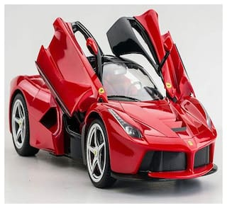 New Toy Chehar Enterprise  1:16 Scale Rechargeable R/C Ferrari with Opening Doors (multicolor)