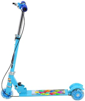 New Toy Chehar Enterprise Wheeler Scooter Ride Ons With Height Adjustable & Foldable For Boys & Girls Cycle/Runner/Rider/sbs