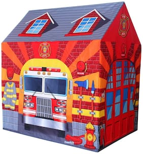 New Toy Chehar Enterprise Fire Station Play Tent Kids Pretend Playhouse