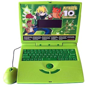 New Toy Chehar Enterprise 22 Activities & Games Fun Laptop Notebook Computer Toy for Kids (Multi)