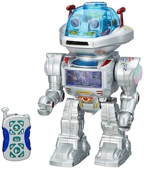 New Toy chehar enterprise Rechargeable Battery Operated with Remote Control Dancing & Walking Robot Missile Disc Launcher