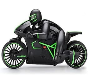 NEw toy chehar enterprise Black Plastic remote control battery operated rechargeable bike(multicolor )(color may be vary))