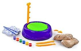 New toy chehar enterprise Plastic Molding Pottery Wheel Set