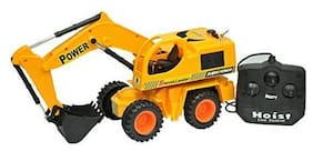New Toy Chehar Enterprise Multicolour Plastic Remote Control JCB Car