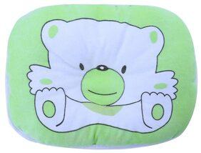 Newborn Infant Soft Neck Head Shape Baby Shaping Pillow (green)