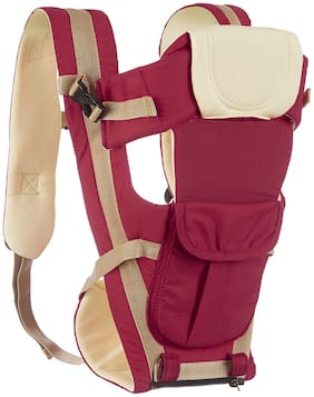 NHR 4 in 1 Premium Baby Carrier Kangaroo Sling Bag with Safety Belt and Buckles