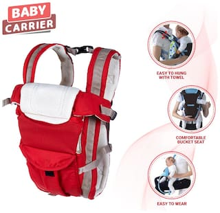 NHR Dash Baby's Multifunctional Carrier (Red)