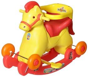 NHR Fashionable Horsey Rocker Cum Ride On (Red)
