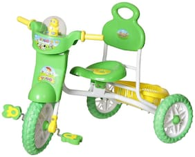 NHR Kids VEGA tricycle with storage basket, Lights and music.