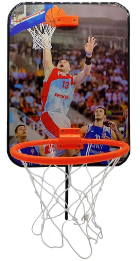 NHR Mini Basketball Hoop Set for Kids Playing Indoor Outdoor Hanging  Basket Ball Set  Best Gift for Boys and Girls
