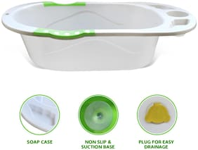 NHR New Born Infant Baby Non-Toxic Plastic Bath Tub for 0 to 9 Month Baby