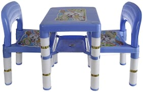 NHR Novelty Dolphin 2 Chairs and 1 Table Set (Blue)