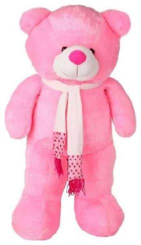 Nihan Enterprises Pink Teddy Bear - 90 cm