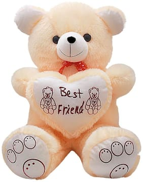 Nihan Enterprises Cream Teddy Bear - 90 cm , 1