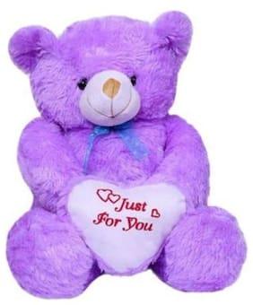 Nihan Enterprises Purple Teddy Bear - 90 cm
