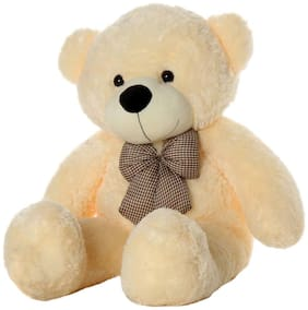 Nihan Enterprises Cream Teddy Bear - 91 cm , 1
