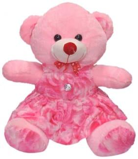 Nihan Enterprises Pink Teddy Bear - 30 cm