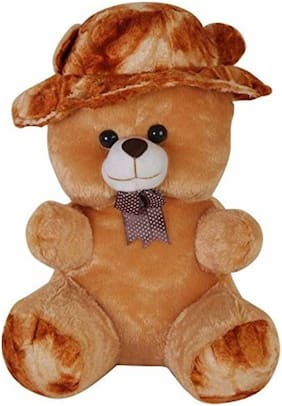 Nihan Enterprises Brown Teddy Bear - 8 cm , 1
