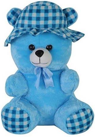 Nihan Enterprises Blue Teddy Bear - 8 cm , 1