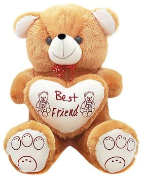 Nihan Enterprises Brown Teddy Bear - 80 cm