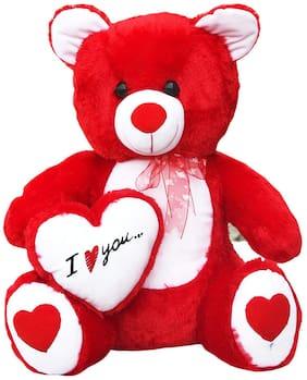 Nihan Enterprises Red Teddy Bear - 60 cm , 1