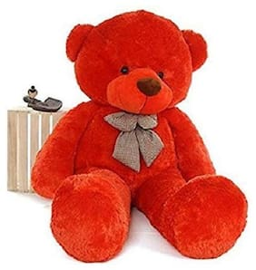 Nihan Enterprises Red Teddy Bear - 60 cm , 1