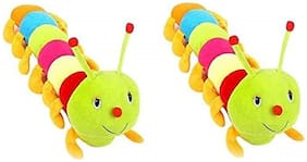 Nihan Enterprises Multicolor Caterpiller Set of 2