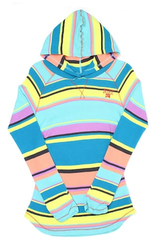0333360ff0b0 Buy Nike Girl Cotton Solid Sweatshirt - Multi Online at Low Prices ...