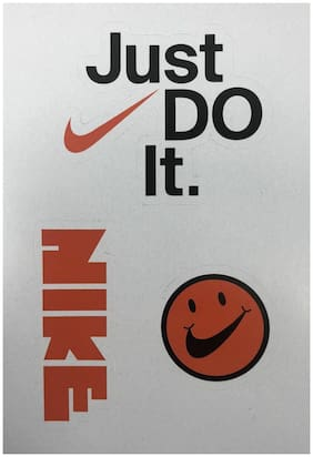 """NIKE Sticker Pack 2018 Sean Wotherspoon """"Have a Nice Day"""", """"Just Do It"""", """"NIKE"""""""