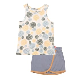 Nino Bambino Baby Girl Combo Set - Blue