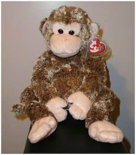 NMT* Ty Beanie Buddy - BONSAI the Chimpanzee / Monkey (15 Inch) MWNMT Plush Toy