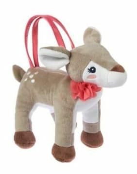 NWT Gymboree MEADOW WALK Deer Plush Purse Toy Bag NEW