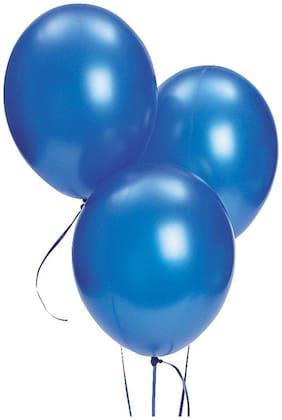 Nxt Gen Blue Metallic Balloons Pack Of 50