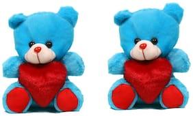 OANIK Blue Teddy Bear - 21 cm