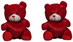 OANIK Red Teddy Bear - 21 cm