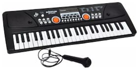 OH BABY 37 KEYS MUSICAL ELECTRONIC KEYBOARD PIANO WITH MIC MELODY MIXING TOYS FOR KIDS SE-ET-554