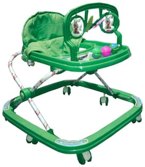 Oh Baby Baby green adjustable rattle walker for your kids SE-W-63