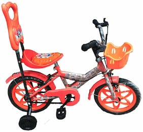 Oh Baby Baby 35.56 Cm (14) bicycle with red color for your kids SE-BC-01 Oh Baby Baby 35.56 Cm (14) bicycle with red color for your kids SE-BC-01