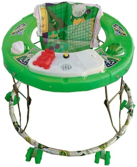 Oh Baby Baby Green Color Musical Walker For Your Kids Se-W-40