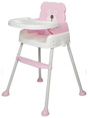 OH BABY, BABY  baby 5 in 1 Smart and Convertible High Chair Baby Feeding Chair- PINK FOR YOUR KIDS SE-ET-08