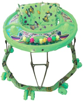 Oh Baby Baby 8 Wheel Green Color Walker For Your Kids SE-W-46