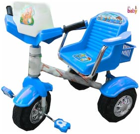 Oh Baby Baby Heavy Pipe Blue Color Tricycle For Your Kids SE-TC-26