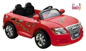 Oh Baby;Baby Battery Operated RED Color AUDI Q2 MODEL CAR OFFICIAL LICENSEDPRODUCT With Double Motor And Double Battery For Your Kids SE-BOC-66