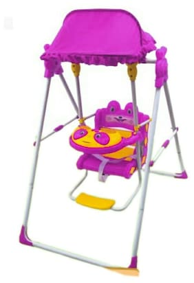 Oh Baby Baby Color (Multi) Plastic AND HUD Swing SE-SJ-37